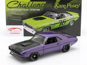 Dodge Challenger anno di costruzione 1970 viola 1:18