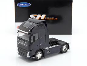 Volvo FH (4x2) trattore anno di costruzione 2016 nero 1:32 Welly