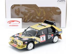 Lancia Delta S4 #1 vencedor Rallye de Asturias 1986 Tabaton, Tedeschini 1:18 Solido