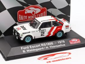 Ford Escort RS 1800 #2 2nd Rallye Monte Carlo 1979 Waldegard, Thorszelius 1:43 Atlas