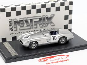 Mercedes-Benz 300 SLR #10 winnaar RAC Tourist Trophy Dundrod 1955 Moss, Fitch 1:43 Matrix