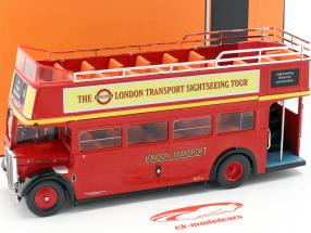 AEC Regent RT Open Top London Sightseeing Baujahr 1950 rot 1:43 Ixo