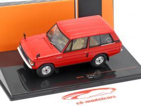 Land Rover Velar Bouwjaar 1969 rood 1:43 Ixo