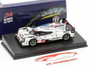 Porsche 919 Hybrid #19 gagnant 24h LeMans 2015 Bamber, Tandy, Hülkenberg 1:64 Spark