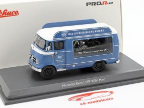 Mercedes-Benz L319 Werbewagen NSU Max blau / weiß 1:43 Schuco