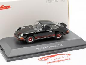 Porsche 911 Carrera 2.7 RS Baujahr 1973 schwarz 1:43 Schuco