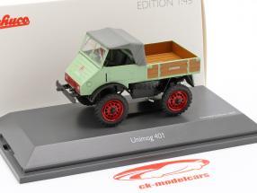 Mercedes-Benz Unimog 401 brillant vert 1:43 Schuco