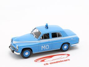 Warszawa 223 police blue in Blister 1:43 Altaya