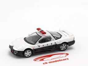 Honda NSX policía blanco / negro en ampolla 1:43 Altaya