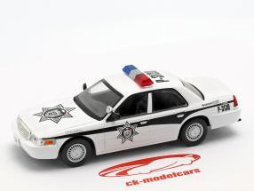 Ford Crown Victoria Policia Mexico white 1:43 Altaya