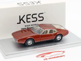 De Tomaso Zonda year 1971 bronze metallic 1:43 KESS