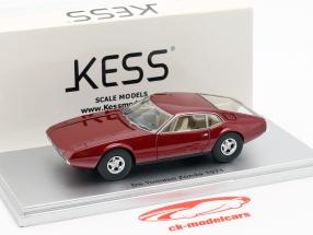 De Tomaso Zonda anno di costruzione 1971 scuro rosso metallico 1:43 KESS