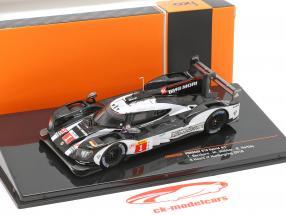 Porsche 919 Hybrid #1 vencedor WEC 6h Nürburgring 2016 Bernhard, Webber, Hartley 1:43 Ixo