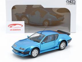 Alpine A310 Pack GT Opførselsår 1983-85 blå metallisk 1:18 Solido