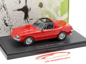 Ferrari 330 GTC Zagato Bouwjaar 1974 rood 1:43 AutoCult