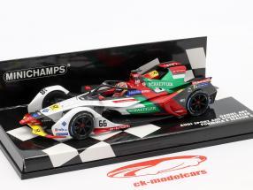 Daniel Abt Audi e-tron FE05 #66 fórmula E temporada 5 2018/19 1:43 Minichamps