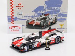 Toyota TS050 Hybrid #8 Vinder 24h LeMans 2018 Buemi, Nakajima, Alonso 1:18 Spark
