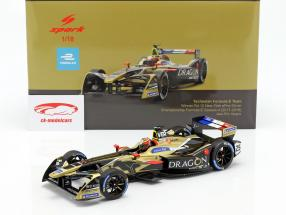 J.-E. Vergne Renault Z.E.17 #25 gagnant New York formule E 2017/18 1:18 Spark