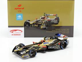 J.-E. Vergne Renault Z.E.17 #25 vencedor New York fórmula E 2017/18 1:18 Spark