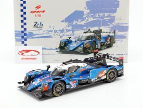 Alpine A470 #36 ganador clase LMP2 24h LeMans 2018 1:18 Spark