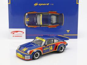 Porsche 911 Carrera RSR #14 gagnant 12h Sebring 1976 Holbert, Keyser 1:18 Spark