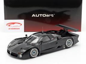 Nissan R390 GT1 LeMans ano de construção 1998 lustro preto 1:18 AUTOart