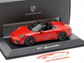Porsche 911 (991 II) Speedster year 2019 Indian red 1:43 Spark