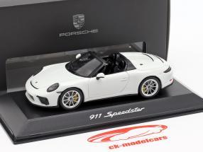 Porsche 911 (991 II) Speedster ano de construção 2019 branco 1:43 Spark