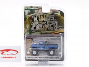 Ford F-250 Monster Truck Kings of Crunch año de construcción 1974 azul 1:64 Greenlight