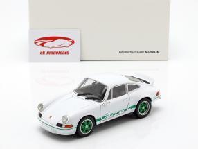 Porsche 911 Carrera RS Baujahr 1973 weiß / grün 1:24 Welly