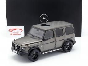 Mercedes-Benz G-Klasse W463 40 jaar 2019 monza grijs magno 1:18 Minichamps