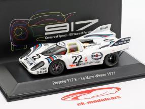 Porsche 917 K #22 Vinder 24h LeMans 1971 Marko, van Lennep 1:43 Spark