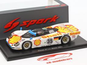 Porsche Dauer 962 GT-LM #35 3rd 24h LeMans 1994 Stuck, Sullivan, Boutsen 1:43 Spark