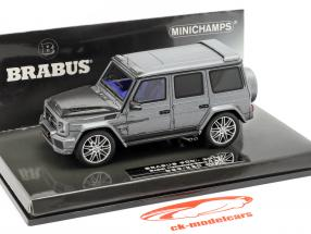 Brabus 900 based on G65 year 2017 gray 1:43 Minichamps