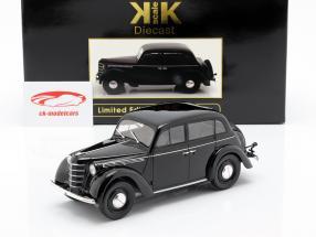 Opel Kadett K38 Bouwjaar 1938 zwart 1:18 KK-Scale