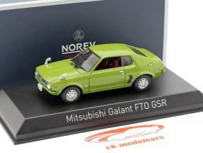 Mitsubishi Galant FTO GSR year 1973 green 1:43 Norev