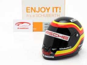 T. Bernhard Porsche 919 Hybrid WEC 2015 Tribute S. Bellof Memorial capacete 1:2 Schuberth