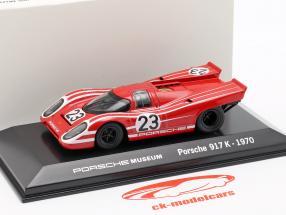 Porsche 917 K #23 Winner 24h LeMans 1970 Porsche KG Salzburg 1:43 Welly