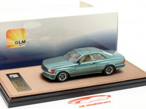 Mercedes-Benz AMG C126 6.0 Wide Body Baujahr 1984-1985 grün metallic 1:43 GLM