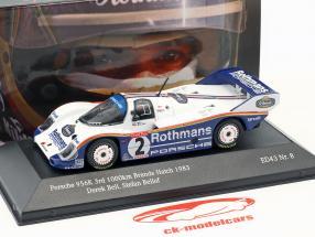 Porsche 956K #2 3e 1000km Brands Hatch 1983 Bellof, Bell 1:43 CMR