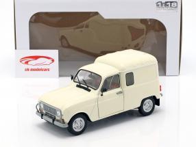 Renault 4LF4 año de construcción 1975 crema blanco 1:18 Solido