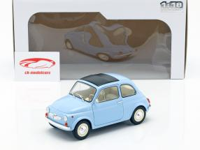 Steyr Puch 500 year 1969 light blue 1:18 Solido