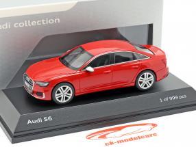 Audi S6 tango rood 1:43 Jaditoys