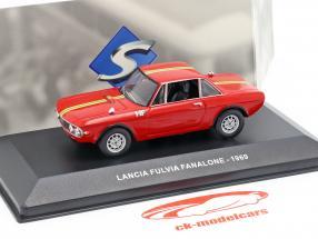 Lancia Fulvia Fanalone anno di costruzione 1969 rosso 1:43 Solido