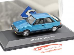 Renault 11 Turbo Baujahr 1985 blau 1:43 Solido