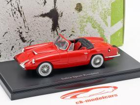 Sabra Sport Roadster Bouwjaar 1962 rood 1:43 AutoCult