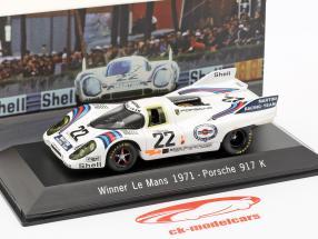 Porsche 917 K #22 Winnaar 24h LeMans 1971 Marko, Lennep 1:43 Spark