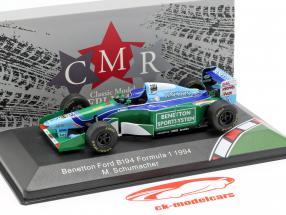 Michael Schumacher Benetton B194 #5 wereldkampioen formule 1 1994 1:43 CMR