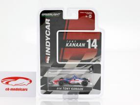 Tony Kanaan Chevrolet #14 Indycar Series 2019 A.J. Foyt Enterprises 1:64 Greenlight