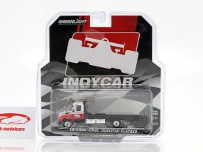 International DuraStar 4400 Flatbed Truck Indycar Series 2019 1:64 Greenlight